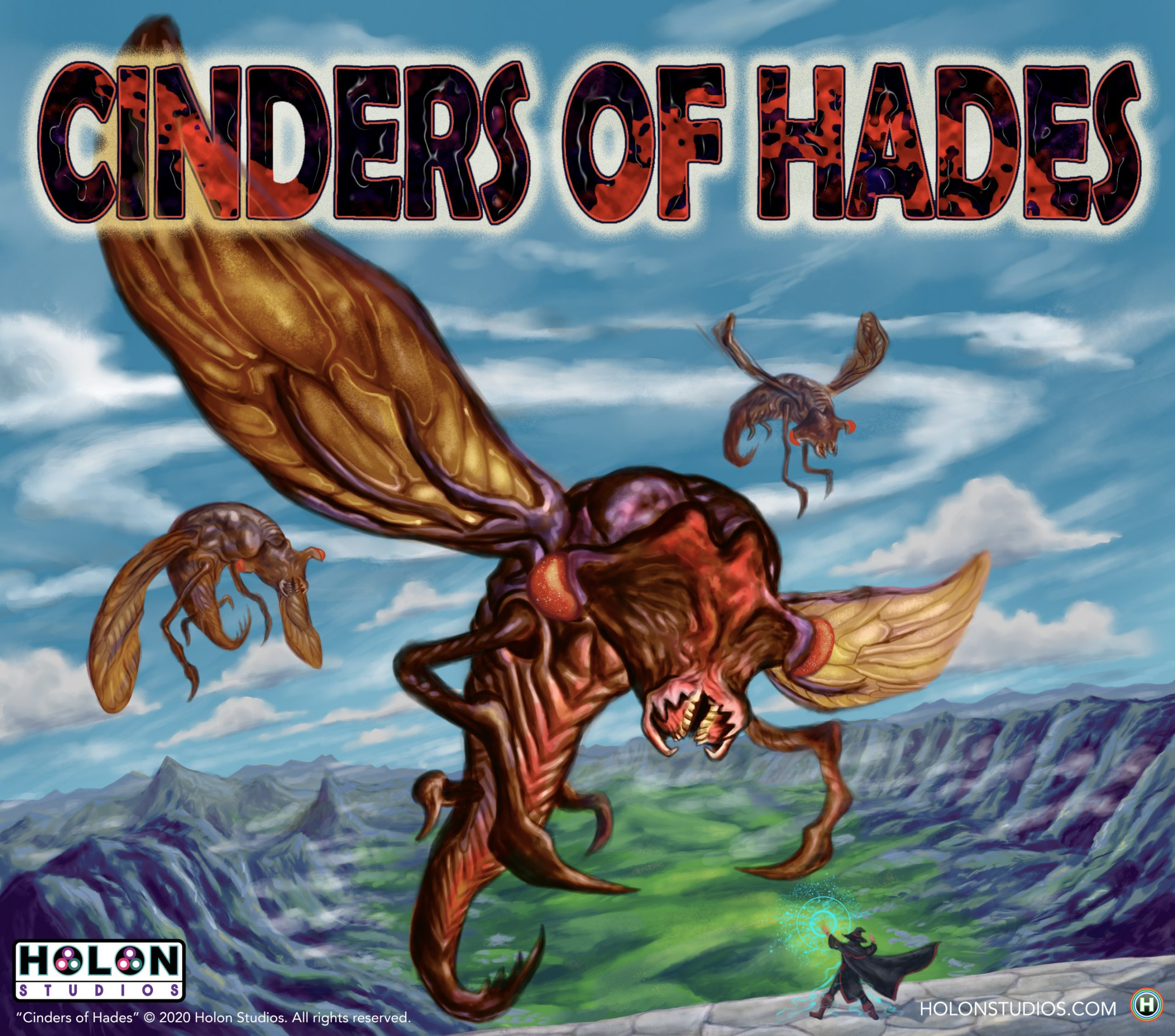 Cinders of Hades Hell Bugs concept art